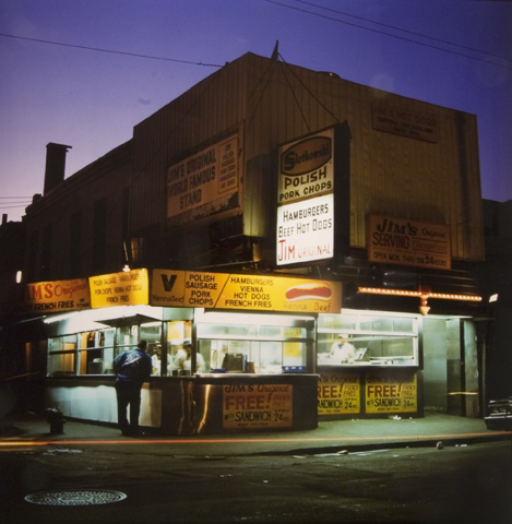 Jim's Original, Maxwell St., from the