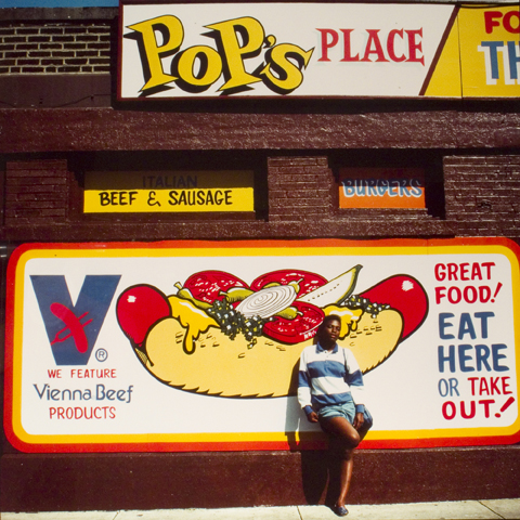 Pop's Place (with girl), from the