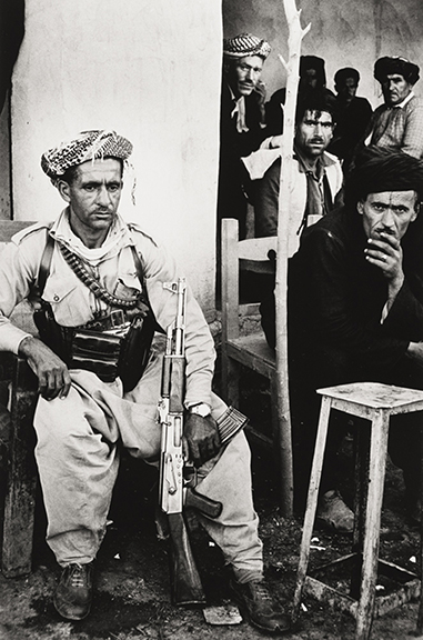 Kurds in Cafe, Iraq