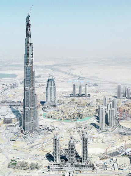 Burj Khalifa Under Construction, Emirates Project
