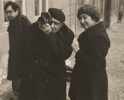 Josef Sudek with Nikon of Sonja Bulati