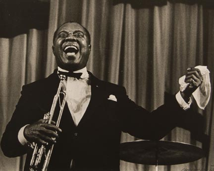 Louis Armstrong in Prague