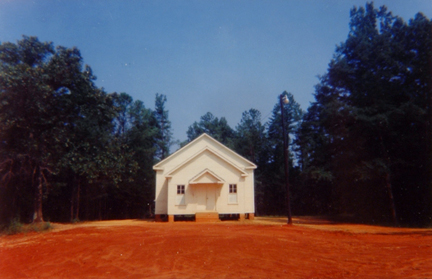 Church Near Marion, Alabama
