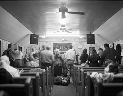 Pentecostal Service, Jolo, WV, from the