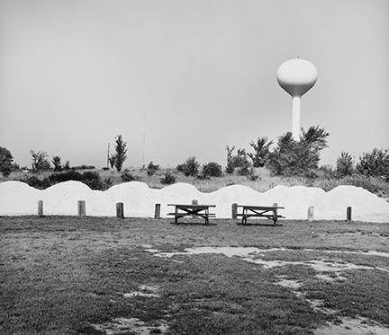 Picnic Benches and Water Tower, from Changing Chicago
