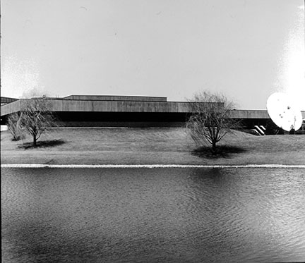 Office Building with Pond, from Changing Chicago