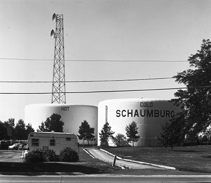 Schaumburg Hot and Cold Water Tank, from Changing Chicago