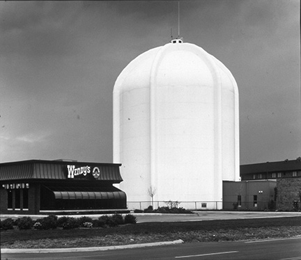 Wendy's and Water Tank, from Changing Chicago