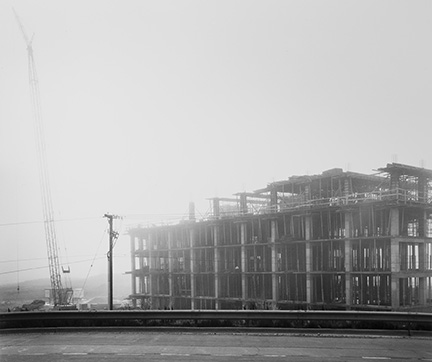 Construction Site in Fog, from Changing Chicago