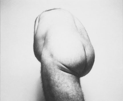 Self Portrait (Back Torso from Below)