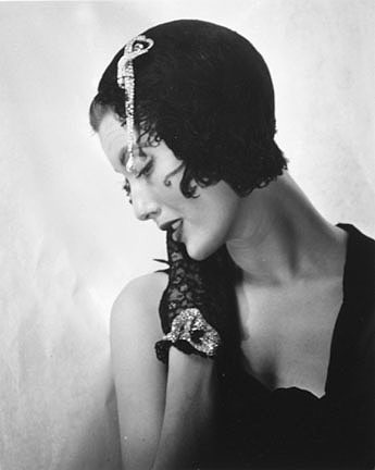 Mary Jane Russell in Dior Hat with Dior Swan Hat, Paris