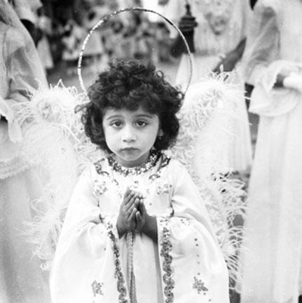 Angel in Religious Procession in San Juan, P.R.