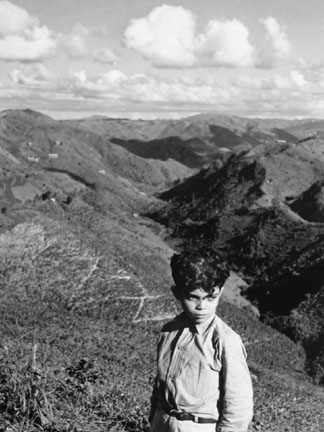 Boy in the Mountains of Puerto Rico