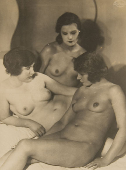 Untitled #113 (three lounging nudes)
