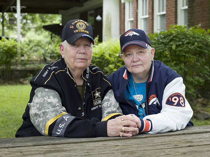Hank, 76, and Samm, 67, North Little Rock, AR, from the