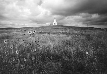 Church at Wounded Knee