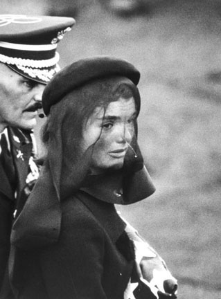 Jackie Kennedy at Funeral