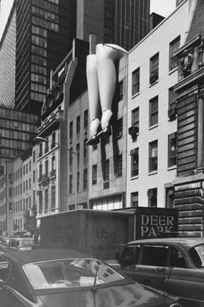 Legs on a Wall, New York, USA