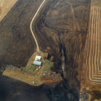 Farm South of Saskatoon, Saskatchewan, October 24, 1996