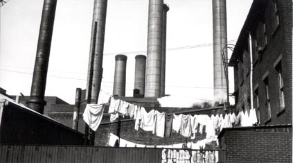 [Clothesline and Smokestacks]