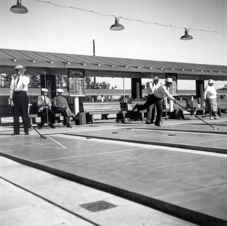 Shuffleboard Players (at Sarasota)