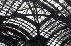 [Glass Roof of Pennsylvania Station, New York City]