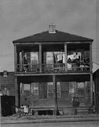 Negro House in New Orleans, Louisiana