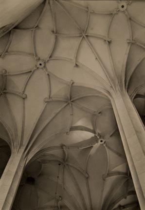 Gothic Vaulted Ceiling Lounsky Church