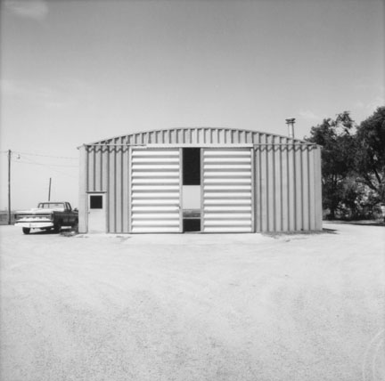 Corrugated Shed, Hennessey, Oklahoma