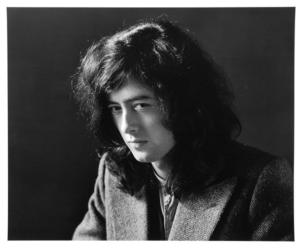 Jimmy Page, from the