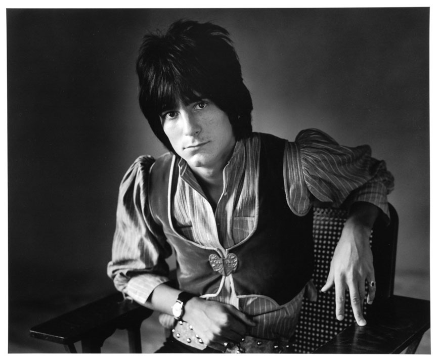 Ron Wood, from the