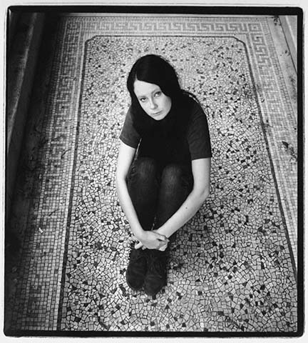 Girl on Mosaic Floor, from the
