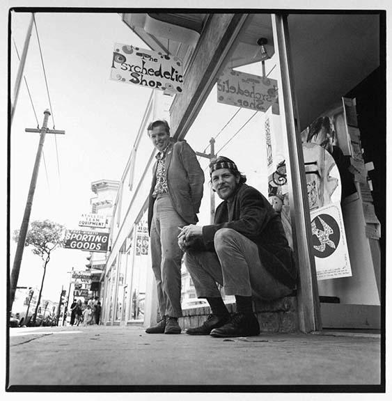 Ron and Jay Thelin (Owners of The Psychedelic Shop), from the