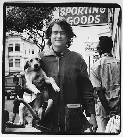 Young Man with Dog, from the