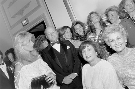 Reception for Princess Agi Khan Before the Alzheimer's Ball, Conrad Hilton Suite, Hilton Hotel, Chicago, from Changing Chicago