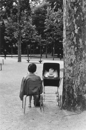 Nanny and Child, Jardin du Luxembourg, Paris