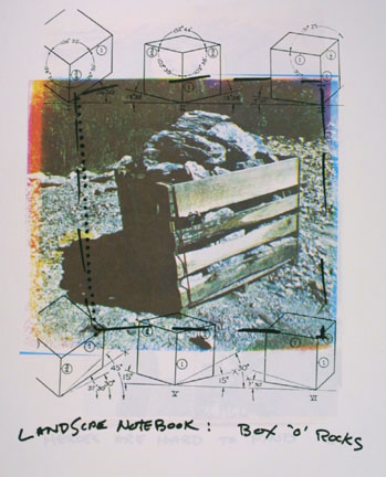 Landscape Notebook: Box 'o' Rockes, from the
