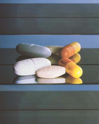 AIDS / HIV Drugs, from the Elton John AIDS Foundation Photography Portfolio I