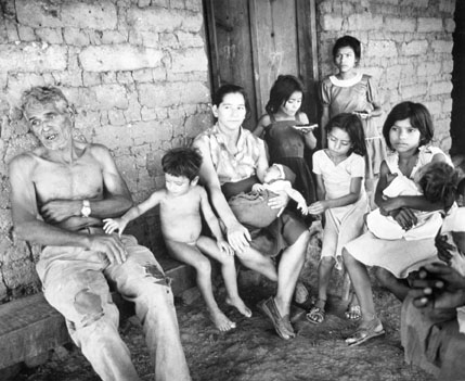 Family on Cooperative, El Salvador