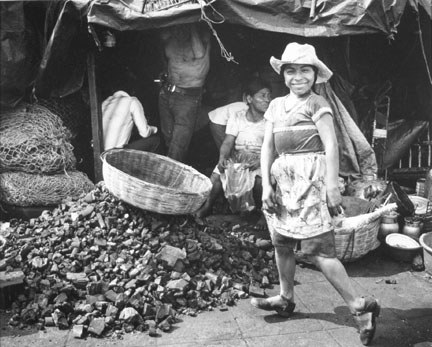 Charcoal Sellers, El Salvador