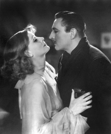 Gretta Garbo and John Barrymore, from the