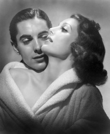 Loretta Young and Tyrone Power, from the
