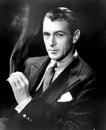 Gary Cooper, from the