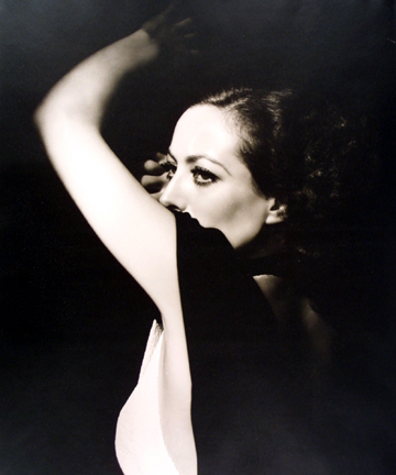 Joan Crawford, from the