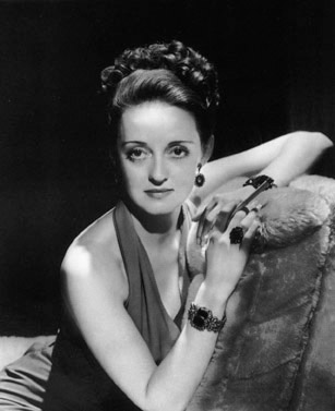 Bette Davis, from the