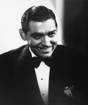 Clark Gable, from the