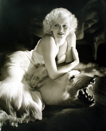 Jean Harlow, from the