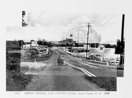 1917 Penny Bridge and Country Road, Stony Point, New York