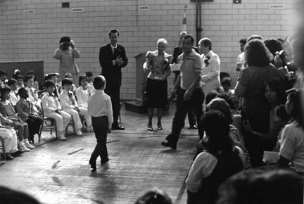 Kindergarten Graduation, Hans Christian Anderson Elementary School, Chicago, from Changing Chicago