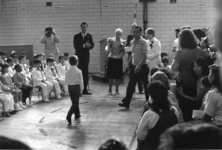 Kindergarden Graduation, Hans Christian Anderson Elementary School, from Changing Chicago Project